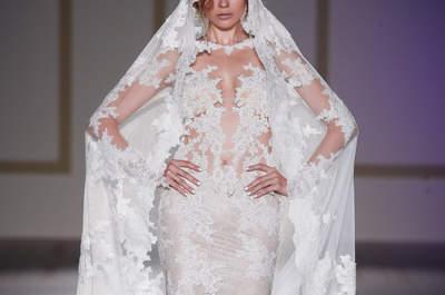 Transparante trouwjurken: kies voor een trouwjurk met tattoo-effect!