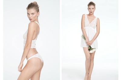 Sexy al descubierto: Colección de lencería para novia Oysho 2013