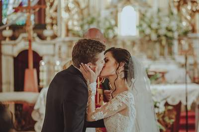 Beskidzki ślub Ewy i Mateusza był pełen pozytywnych emocji...strażak i piękność w obiektywnie niezwykłej fotografki!