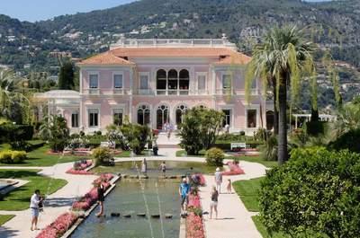 Les plus beaux domaines pour un mariage en Alpes-Maritimes