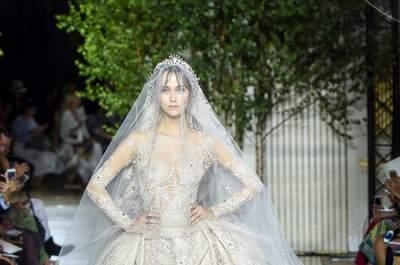 Vestidos de novia alta costura ¡de lo más elegantes! Seguro los amas