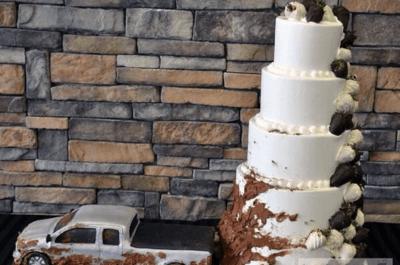 Les 15 gâteaux de mariage les plus insolites de Pinterest... Il fallait y penser !