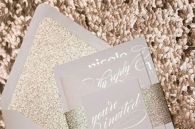 Invitación de boda. Credits: Jupiter and Juno shop
