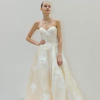 Francesca Miranda. Credits: New York Bridal Week