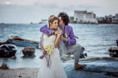 Recomendaciones para escoger el peinado de tu boda en la playa: te damos las claves