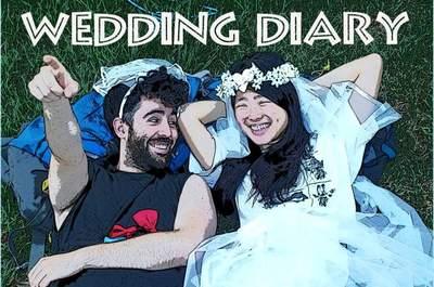 Blog ślubny, czyli relacja z przygód i podróży poślubnych! Wspaniała pamiątka.