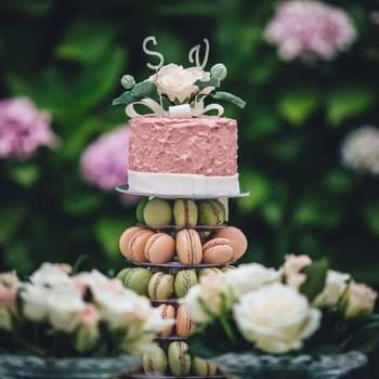 Inspiração para bolos de casamento diferentes e originais | Créditos: Momentos Doces da Luísa