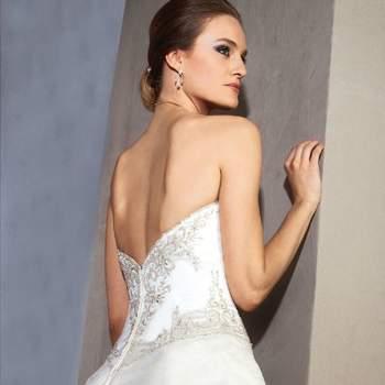 Robe de mariée Christine Couture 2013 - modèle Elvire dos