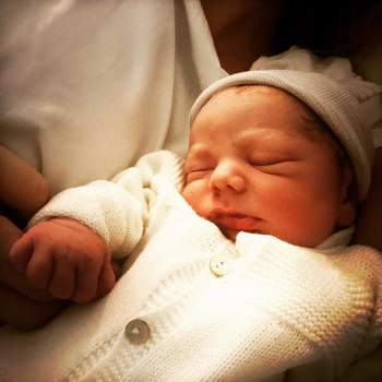 Vicente é o primeiro filho da atriz, fruto do seu relacionamento com David Quintas. | Foto via Facebook @BiduQuinta