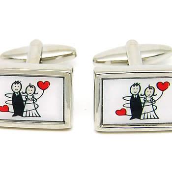 """Siempre recordarás que fueron los gemelos de tu boda. Foto: <a href=""""https://www.zankyou.es/f/gemelolandia-21113"""" target=""""_blank"""">Gemelolandia</a>"""
