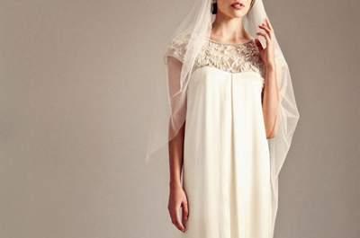 ¿Romántica y atrevida? Estos son los vestidos de novia perfectos para ti