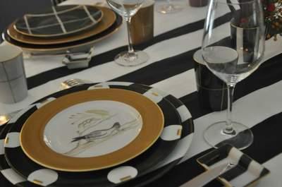Decoración para bodas de lujo: la originalidad de las vajillas Marie Daâge