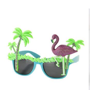 Foto: Gafas de flamencos y palmeras