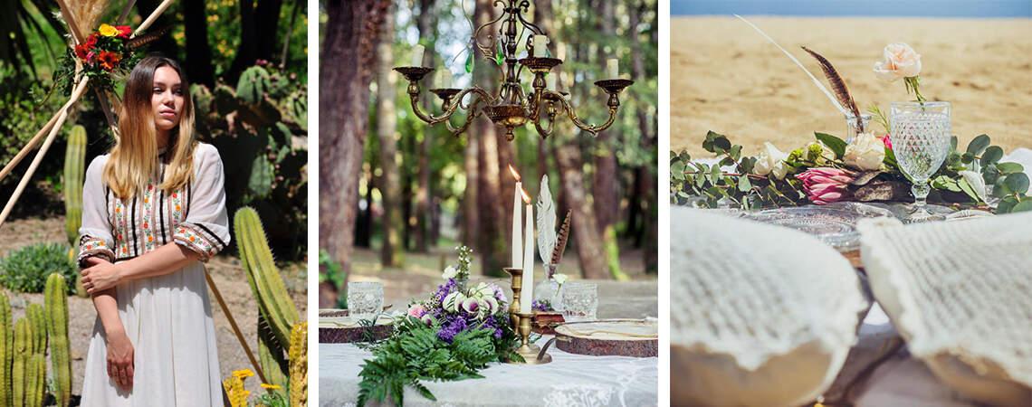 En el desierto, en el bosque o en la playa: así podría ser tu boda ideal