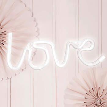 Neon Led love- Compra en The Wedding Shop