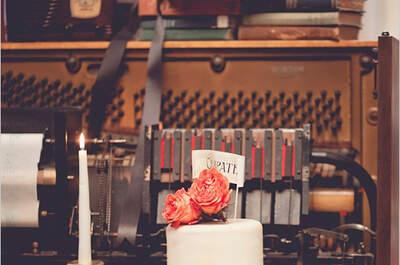 Tu boda en una Love Song: Decoración súper romántica inspirada en la música