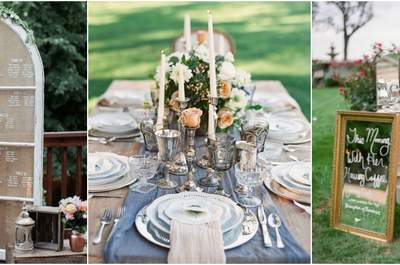 Charming Decorations for a Vintage Wedding 2017