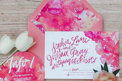 Going for a spring wedding? Check out our ultimate ideas for a stylish spring theme!