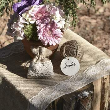 Chemin De Table Jute Et Dentelle - The Wedding Shop !