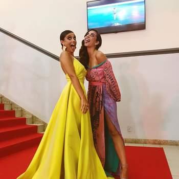 Madalena Almeida e Sílvia Chiola | Foto IG @nenaavelhahiena