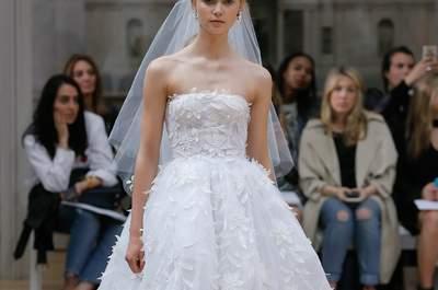 Abiti da sposa senza spalline: romanticismo con un tocco di sensualità