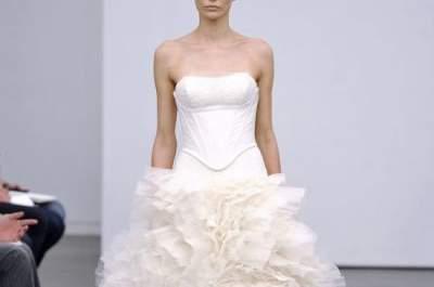 Brautkleider Kollektion Herbst-Winter 2013 von Vera Wang