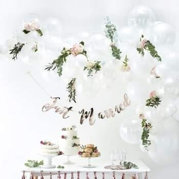 Arc De Ballons Blanc 70 Pièces - Achetez sur The Wedding Shop !
