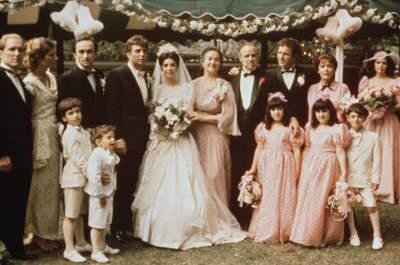 Como organizar um casamento inspirado no filme O Poderoso Chefão?