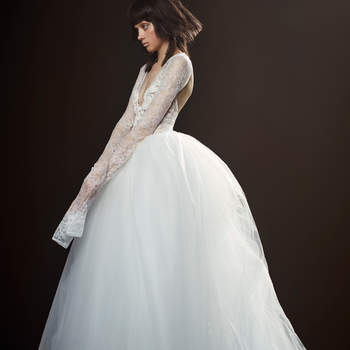 Vestidos de novia Vera Wang 2018: Cuando la creatividad ¡no conoce fronteras!