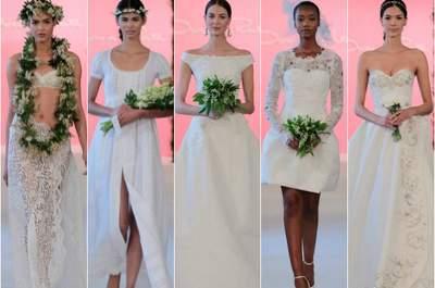 As primeiras colecções da Bridal New York