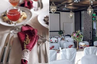 Фото: Ольга Рожкова Организация: Мастерская свадеб г.Тюмень Место: Ресторан
