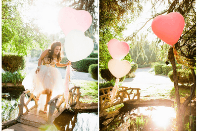 Beautiful balloons for your wedding
