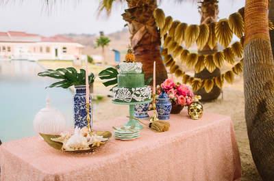 Tu boda en el mismísimo Caribe... ¡Mucho color y vida!