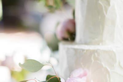 Bolo de casamento TOTAL WHITE conquista as noivas mais sofisticadas!