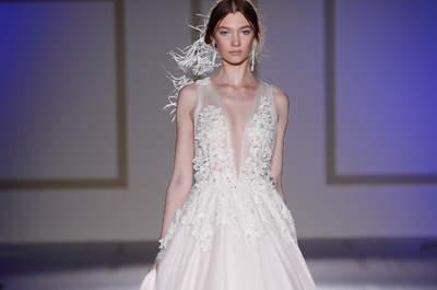 Vestidos de novia para mujeres delgadas: ¡Diseños espectaculares!