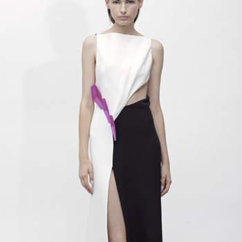 A colecção ready-to-wear Angel Sanchez primavera 2013, apresentada na Mercedes-Benz Fashion Week, em Nova Iorque, traz-nos ideias frescas para convidadas de casamento muito modernas - e até noivas.