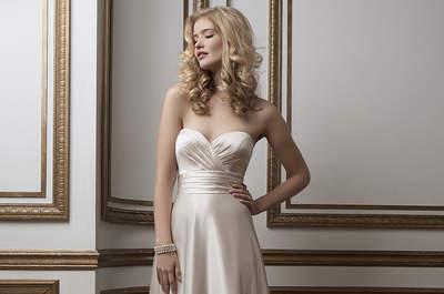 Sukienki Panny Młodej 2016! Wybierz jedną z tych w stylu empire : bardzo romantyczny wygląd!