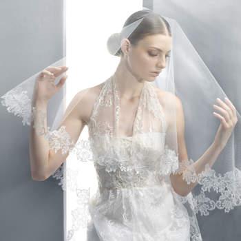 Conoce la tendencia de tocados y velos de novia que propone el diseñador Jesús Peiró para las novias que buscan lo más actual en estilo y moda de novia