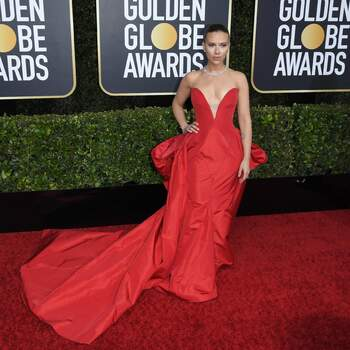 Scarlett Johansson in Vera Wang | Credits: Cordon Press