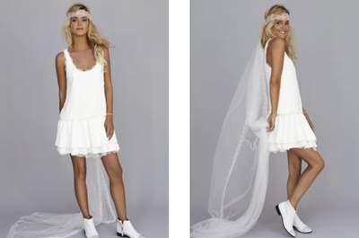 Bohemian Brautkleider - Die Brautkleider Kollektion 2013 von Rime Arodaky