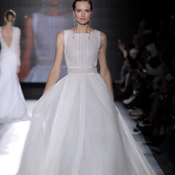 Rosa Clará. Créditos: Barcelona Bridal Fashion Week