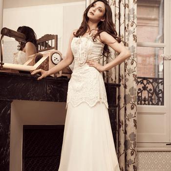 Robe de mariée Elsa Gary 2013, modèle Greta. Photo: Elsa Gary