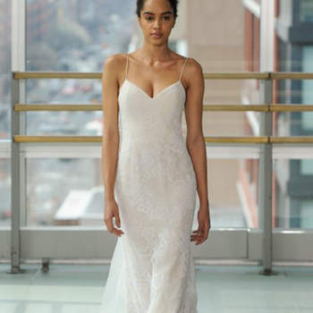 Kleid von Grazy Accad, Credits:  New York Bridal Week