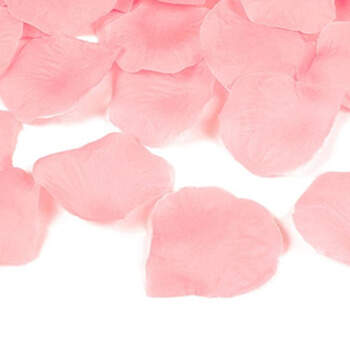Foto: Pétalos de tela rosas