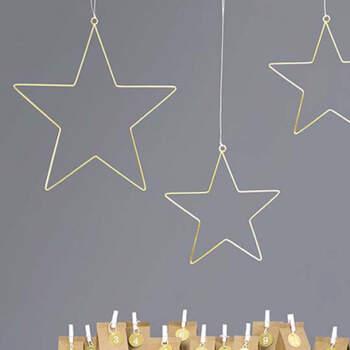 Estrellas doradas metálicas de 2 piezas- Compra en The Wedding Shop