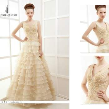 Robe de mariée Veronika Jeanvie - modèle Scheherazade