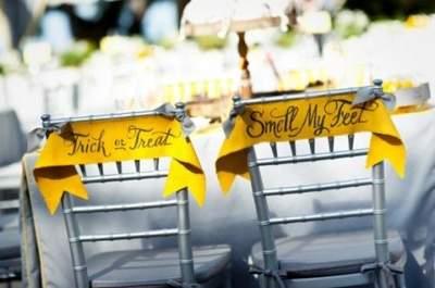 Inspiration et idées pour un mariage sur le thème d'Halloween