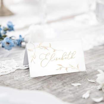 Marcasitio Tradicional Hojas 10 Unidades- Compra en The Wedding Shop
