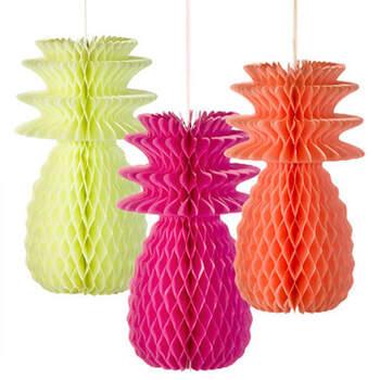 Decoraciones Piña- Compra en The Wedding Shop
