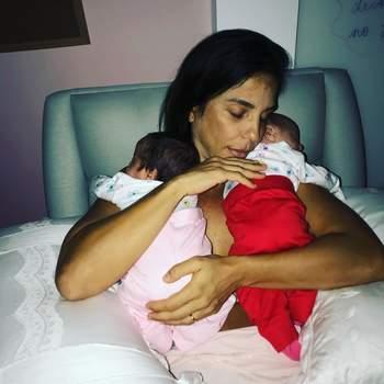Ivete Sangalo deu à luz as suas gémeas na madrugada do dia 10 de fevereiro, em Salvador. | Foto via IG @ivetesangalo